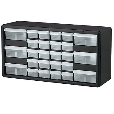 Akro-Mils Cabinet, Parts Storage, 26 Compartments