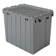 Akro-Mils Attached Lid Containers