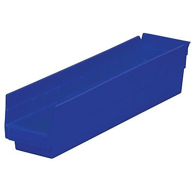 Akro-Mils Shelf Bins,17-7/8 x 4-1/8 x 4
