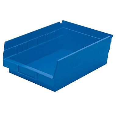 Akro-Mils Shelf Bins,11-5/8 x 8-3/8 x 4
