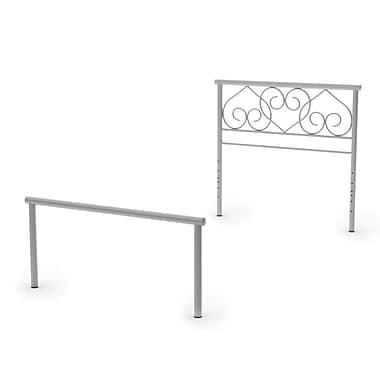 Amisco Love Twin Size Metal Headboard & Footboard 39