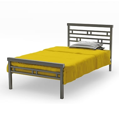 Amisco Sentinel Twin Size Metal Bed 39