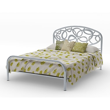 Amisco Alba Full Size Metal Headboard & Footboard 54