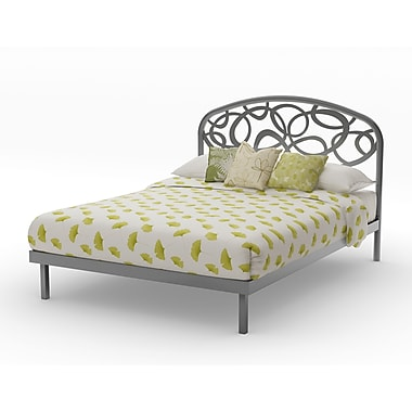 Amisco Alba Full Size Metal Platform Bed 54