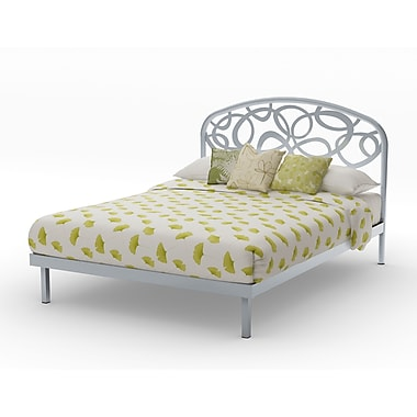 Amisco Alba Queen Size Metal Platform Bed 60
