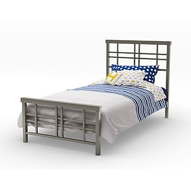Amisco Heritage Twin Size Metal Headboard & footboard 39