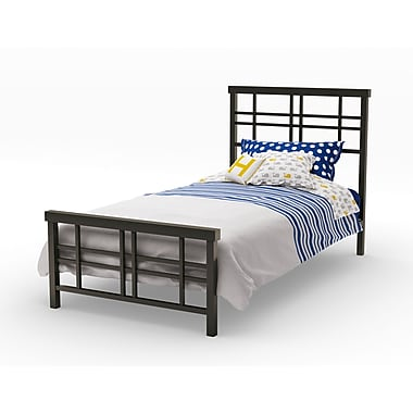 Amisco Heritage Twin Size Metal Bed 39