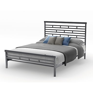 Amisco Highway Queen Size Metal Bed 60