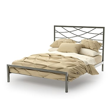 Amisco Altess Full Size Metal Headboard & Footboard 54