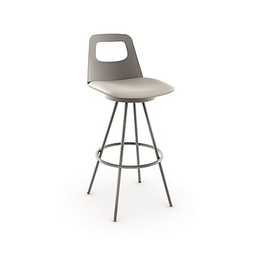 Amisco Ovo Swivel Metal Counter Stool 26