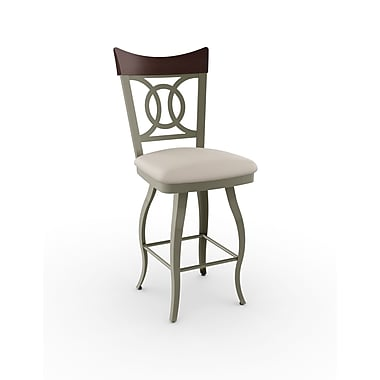 Amisco Porto Swivel Metal Barstool 30