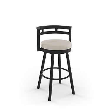 Amisco Render Swivel Metal Counter Stool 26