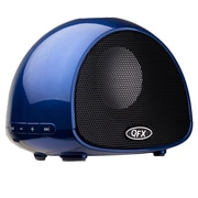 QFX® BT-100 Bluetooth Speaker With Microphone, Blue