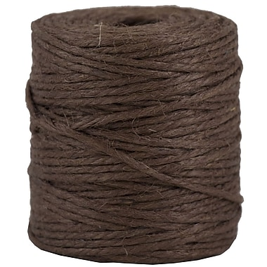 JAM Paper® Kraft Twine, 73 Yards, Chocolate Brown, Sold Individually (67821708)