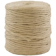 JAM Paper® Paper 3 Ply Natural Jute Kraft Twine, Ivory, Sold Individually