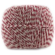 Jam® Baker's Twine Roll, Red/White, 500 yds.