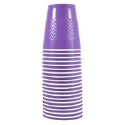 JAM Paper® Plastic Cups 12 Oz. Purple, 20/Pack
