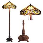Chloe Lighting Victorian Tiffany Floor Lamp