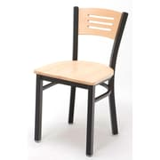 KFI Seating Cafe Side Chair; Natural