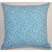 Creative Home Parson Cotton Throw Pillow; Cornflower