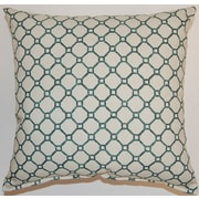 Creative Home Pamir Cotton Throw Pillow; Turquoise