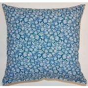 Creative Home Parson Cotton Throw Pillow; Mariner