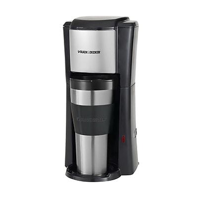 Black & Decker Single Serve Coffee Maker WYF078277657242