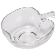 A&B Home Glass Apple Candy Dish