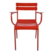 Antique Revival Morriss Arm Chair (Set of 2); Red