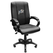 XZIPIT Collegiate High-Back Executive Chair with Arms; NAVY Midshipmen