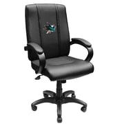 XZIPIT NHL High-Back Executive Chair with Arms; San Jose Sharks