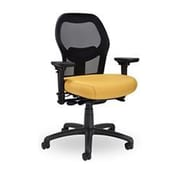 Seating Inc Grid High-Back Mesh Task Chair; Black