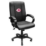 XZIPIT MLB High-Back Executive Chair with Arms; Cincinnati Reds