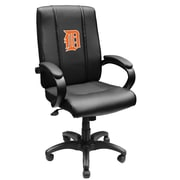 XZIPIT MLB High-Back Executive Chair with Arms; Detroit Tigers Orange