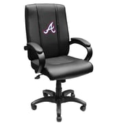 XZIPIT MLB High-Back Executive Chair with Arms; Atlanta Braves II