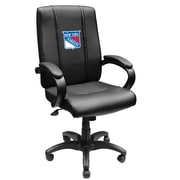 XZIPIT NHL High-Back Executive Chair with Arms; New York Rangers