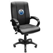 XZIPIT NHL High-Back Executive Chair with Arms; Edmonton Oilers