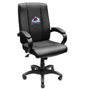 XZIPIT NHL High-Back Executive Chair with Arms; Colorado Avalanche
