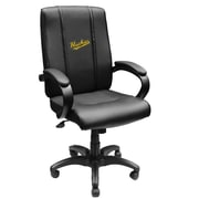 XZIPIT Collegiate High-Back Executive Chair with Arms; Michigan Tech Huskies Script