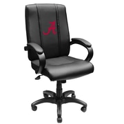 XZIPIT Collegiate High-Back Executive Chair with Arms; Alabama Crimson Tide Red A