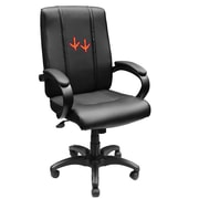 XZIPIT Collegiate High-Back Executive Chair with Arms; Virginia Tech Hokies Feet