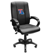 XZIPIT Collegiate High-Back Executive Chair with Arms; Louisiana Tech Bulldogs