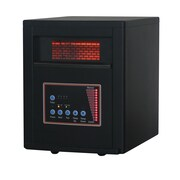DuraHeat 5,120 BTU Infrared Cabinet Quartz Heater with Easy Roll Caster and Remote Control
