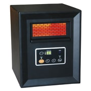 DuraHeat 1,500 Watt Portable Electric Infrared Cabinet Heater with Remote Control