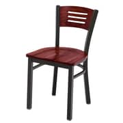 KFI Seating Cafe Side Chair; Mahogany