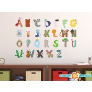 Sunny Decals Alphabet Fabric Wall Decal