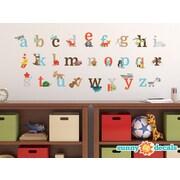 Sunny Decals Alphabet Fun Fabric Wall Decal