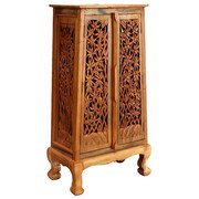 EXP D cor Handmade Acacia 50'' Bamboo Forest Storage Cabinet
