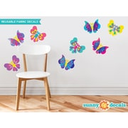 Sunny Decals Butterfly Fabric Wall Decal