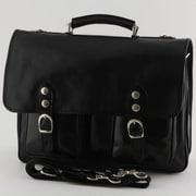 Tony Perotti Messenger Bag; Black